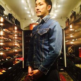 Levi's Denim Jacket Third Type Big E Size36くらい