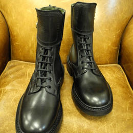 18.07 Rejected Tricker's / Black  / Motorcycle Boots / Command W Sole / Size 6 half