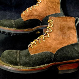 6 White's / Black×Brown Rought Out / SmokeJumper / 8 Half D