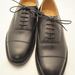 UK Original / Cap Toe Shoes / Black / Rubber Sole