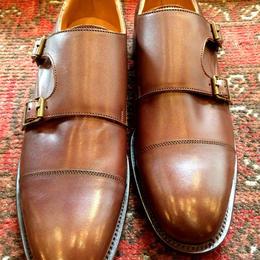 UK Original / Double Monk Shoes / Brown