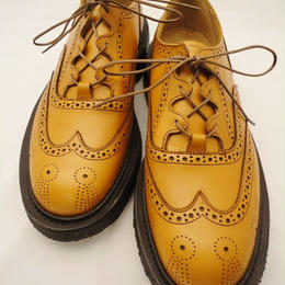 Tricker's × UW / Thistle Gillie Country Shoes / Acorn