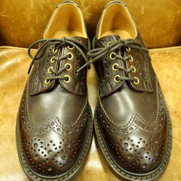 17.10  Rejected Tricker's / Dark Brown / Country Full Brogue Shoes  / Dainite W Sole