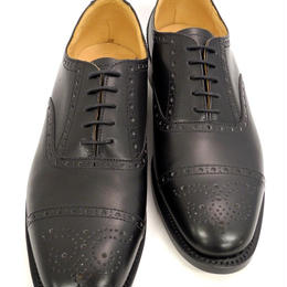 UK Original / Semi Brogue Shoes / Black