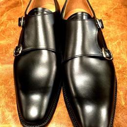 Joseph Cheaney  / Double Monk Shoes / Black