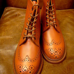 Tricker's × UW Ladies / Country Brogue Boots / C-Shade