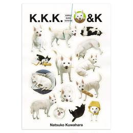 桑原奈津子 K.K.K.&K シール