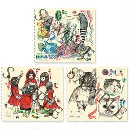 ヒグチユウコ クロッキーブック(3冊セット)