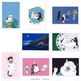 庄野ナホコ「ルッキオとフリフリ」ポストカード