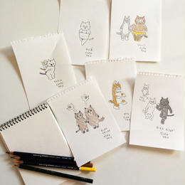 イシグロアヤコ(石黒亜矢子)飼い猫の似顔絵描き*抽選申込