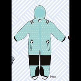ducksday Toddler snow suit Ben (98-104cm ~ 110-116cm )