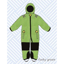 ducksday Toddler snow suit Funky green (98-104cm ~ 110-116cm )
