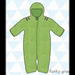 ducksday Baby snow suit Funky green (74cm ~92cm )