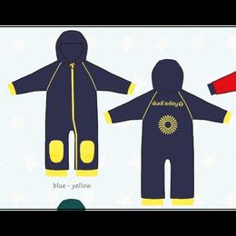 ducksday Fleece suits Blue/yellow ( 98-104cm~104-116cm )