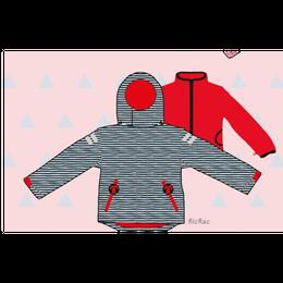 ducksday Detachable fleece&jacket Flicflac ( 8y / 10y / 12y )