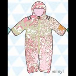 ducksday Baby snow suit Milsyl (74cm ~92cm )