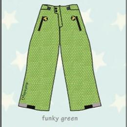 ducksday Lined winter pants Funky green ( 2y / 4y / 6y )