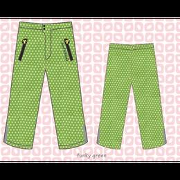 ducksday Rain pants Funky green ( 8y / 10y / 12y )