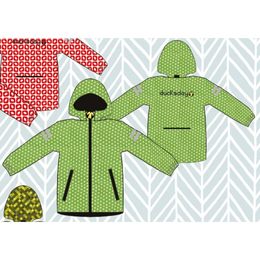ducksday Rain jacket Funky green  ( 8y / 10y / 12y )