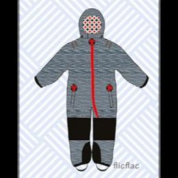 ducksday Toddler snow suit Flicflac (98-104cm ~ 110-116cm )
