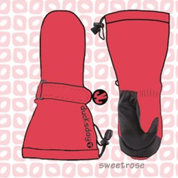 ducksday Mittens Sweetrose ( S / M / L )