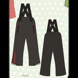 ducksday Winterpants with braces  Black ( 8y / 10y / 12y )