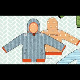 ducksday Reversible jacket  Manu ( 8y / 10y / 12y )