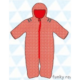 ducksday Baby snow suit Funky red (74cm ~92cm )