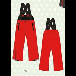 ducksday Winterpants with braces  Red ( 8y / 10y / 12y )