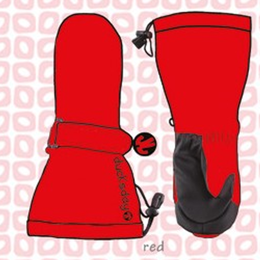 ducksday Mittens Red ( S / M / L )