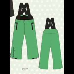 ducksday Winterpants with braces  Green ( 8y / 10y / 12y )