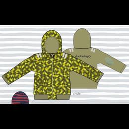 ducksday Reversible jacket clyde ( 8y / 10y / 12y )