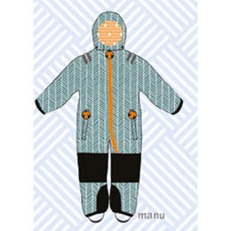 ducksday Toddler snow suit Manu (98-104cm ~ 110-116cm )