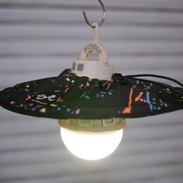 BALLISTICS INDUSTRIES×HALF TRACK PRODUCTS  Lamp Shade<Splatter>