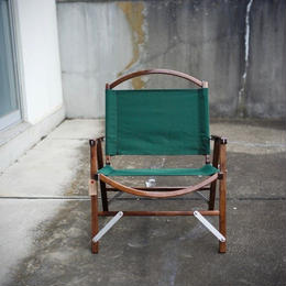 Kermit Chair WALNUT -FOREST GREEN-