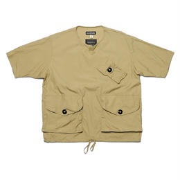 MONITALY S/S Mil Crew Henley Pullover