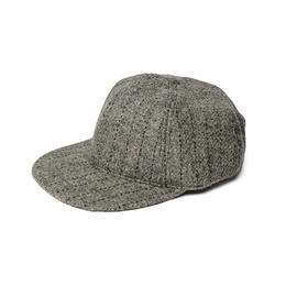 MONITALY 6-PANEL CAP,HARRIS TWEED