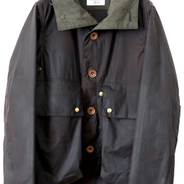 TAKE&SONS Waxed Cotton Field Jacket, No. 17103
