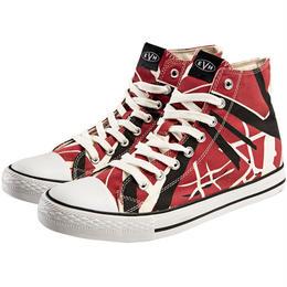 EVH Red High Top Sneakers [#AB011]