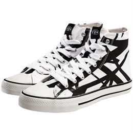EVH White High Top Sneakers [#AB010]