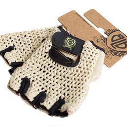 BLB Cycling Glove / Tan Crouchet/Natural Tan Palm / BLB サイクリンググローブ(合皮+メッシュ)ナチュラル(GLBT0050-54)