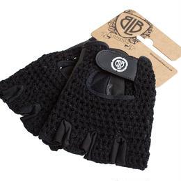 BLB Cycling Glove / All Black / BLB サイクリンググローブ(合皮+メッシュ)(GLBB0040-44)