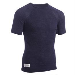 Velobici Noli Merino T ヴェロビチ ノリ メリノウール Tシャツ(Blue)(VB-11)