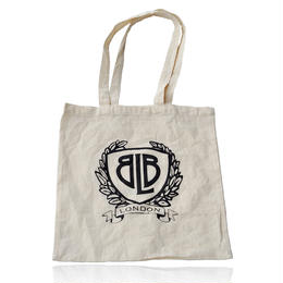 BLB 100% Cotton Shopping Bag  / BLB 100%コットン素材 ショッピング ショルダーバッグ(BLB-SGBB0001)