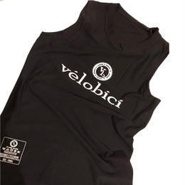 Velobici Performance Baselayer Sleeveless Black / ヴェロビチ パフォーマンス メッシュ ベースレイヤー Black(袖なし)(VB-153)