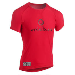 Velobici Performance Baselayer Short Sleeve Red / ヴェロビチ パフォーマンス メッシュ ベースレイヤー Red(半袖)(VB-152R)