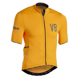 Velobici Verne Short Sleeve Jersey Gold Mens&Womens / ヴェロビチ ヴァーン 半袖ジャージ Gold メンズ&レディース(VB-195,197)