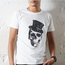 Hat Skull Print T-shirt