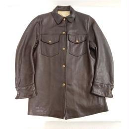 【 1960s  Mid Western 】Deerskin  shirt