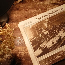 【 In1915.  THE NEW YORK TIMES 】Newspaper
